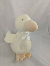 """Carters Just One Year Yellow Duck Plush 8"""" Jingle Bell Rattle Stuffed An... - $19.95"""