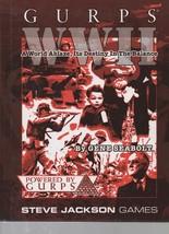 GURPS WW II - Steve Jackson Games - Gene Seabolt - HC - 2002 -1-55634-685-9 - $34.64