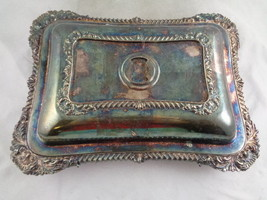 Silver Plated Clamshell Style Serving Dish Deco... - $24.52