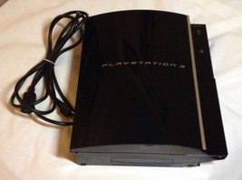 SONY PLAYSTATION 3 40 GB PIANO BLACK CONLSOLE (CECH-G01) **FOR PARTS ONLY** - $60.78