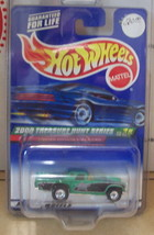 2000 Treasure Hunt #8 1957 T-Bird Collectible Die Cast Car Mattel Hot Wheels - $23.38
