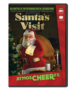Santa's Visit DVD Christmas Virtual Show Window Projection Prop by Atmos... - $32.90