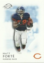 2011 Topps Legends Blue #102 Matt Forte - $0.50