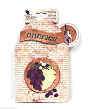 Pop Overs Grapes Gift and Go Bottle Wrap - $8.35