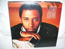 JEFFREY OSBORNE {DON'T STOP} LP VINYL RECORD 1984 - $9.00