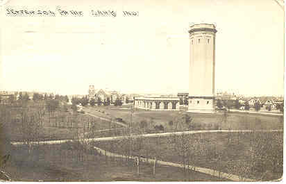 Jefferson Park Gary Indiana Real Photo Post Card