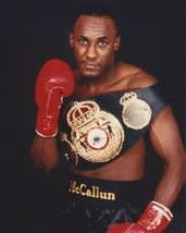 Mike Mc Callum 8 X10 Photo Boxing Picture With Belt - $3.95