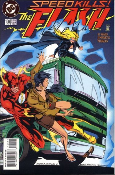 DC FLASH (1987 Series) #106 VF
