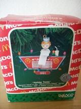 "Enesco 1991 McDonald's ""Holiday Treats"" Christmas Ornament - $25.00"