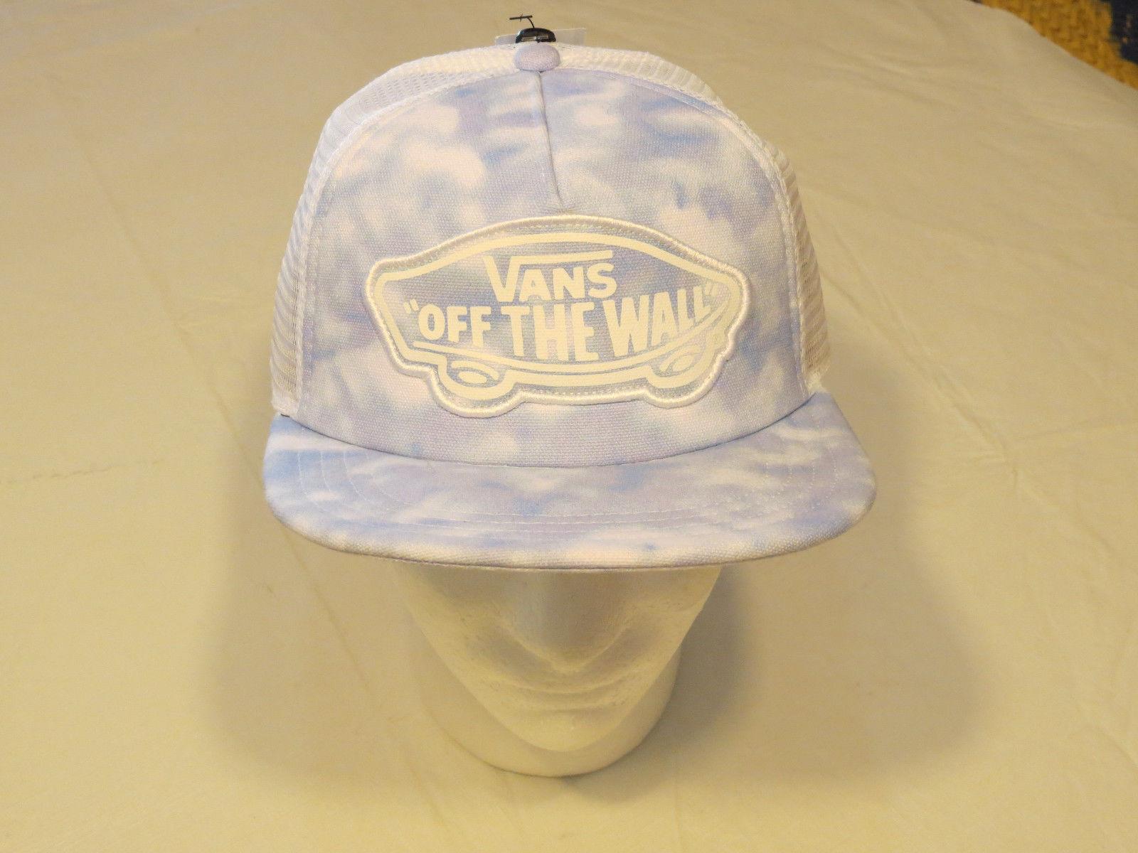 new arrival 61424 ccde6 Van s off the wall Vans trucker hat cap NEW and 19 similar items
