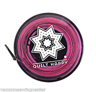 Quilt Happy Tape Measure Purple