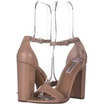 Steve Madden Carrson Ankle Strap Dress Sandals 293, Blush, 8 US - $26.87