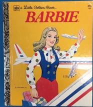 BARBIE (1976) Little Golden Book - $9.89