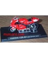 Yamaha YZR-M1 Max Biaggi 2002 Moto 1/24 Diecast - $9.92