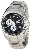 NWT TechnoMarine Men's 112025 Cruise Steel Stainless Steel Bracelet Watch  - $1,049.95