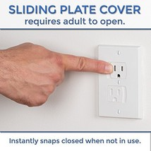 4 SelfClosing Outlet Covers Corner Guards Magne... - $30.41