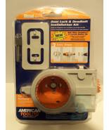 NEW American Tool Door Lock & Deadbolt Installa... - $29.35