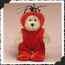 """Boyds Bear """"Cari Carrot"""" 6"""" Plush Peeker Bear- #904246- New- 2004 - $23.99"""