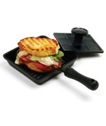 Cast iron Skillet Mini Grilled Cheese Panini Pr... - $46.95