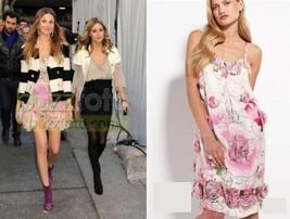 Nwt Diane Von Furstenberg Tiaroa Rose DRESS- Whitney Port! 4 - $199.99