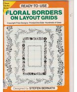Free Ship Floral Borders on Layout Grids Dover ... - $8.99