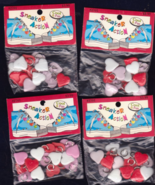 Free Ship Little Plastic Heart Buttons Lot of  ... - $5.50