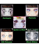 Face Art Glitter TEMPORARY TATTOOS Costume Instant Makeup Eye Decal-CHOO... - $3.93+