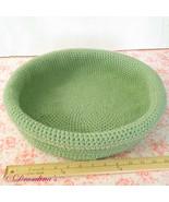 Cat Bed Crochet Sleep Basket Dog Pet Blanket Cozy Kitty Home Washable Ha... - $19.99