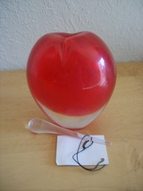 Stile di Murano Hand Blown Art Glass Apple - $25.00