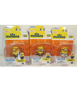 "Minions 2"" Action Figures Bored Silly Bob, Bored Silly Stuart, Egyptian ... - $17.81"