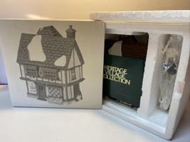 Dept 56 Heritage Dickens Village TUTBURY PRINTER 5568-9 *Retired* WITH BOX - $28.70