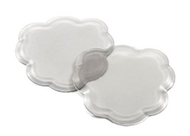 """Foot Petals Technogel """"Tip Toes"""" Ball-of-Foot Cushion Inserts-Clear"""