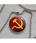 Communism Hammer & Sickle Choose Style Communist Pendant Necklace - $14.85+