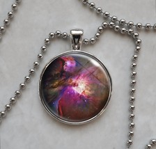 Orion Nebula Astronomy Space Science Pendant Necklace - $13.00+