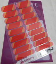 Jamberry Summer Sunburst FT49 Nail Wrap  (Full Sheet ) Retired Design - $16.82