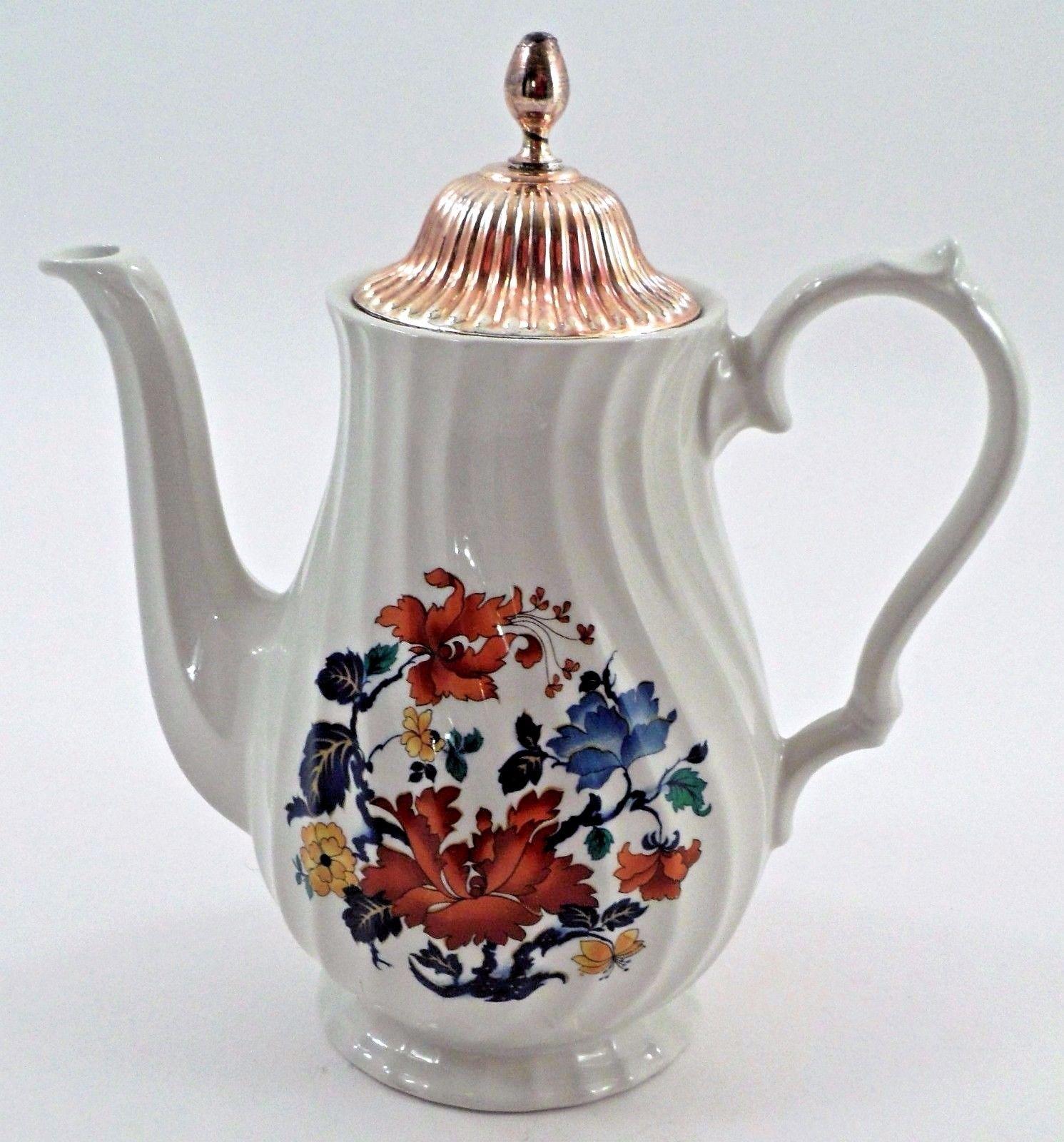 Lovely myott meakin england dynasty kismet coffee pot