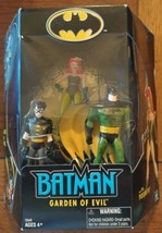 Batman: Garden of Evil, Batman, Robin, & Poison Ivy 3-Pack Hasbro 2002 - $24.99
