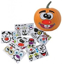 Make Your Own Jack O Lantern Halloween Sticker Set (Package Of 12 Sticker - $18.11