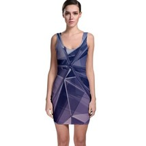 Cute Glass Shards Tight Fitted Bodycon Dresses - Size & Sleeve Options - $26.18+