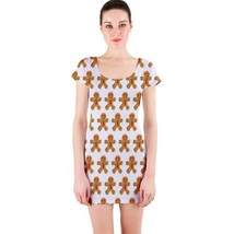 Sexy Cute Gingerbread Man Tight Fitted Bodycon Dresses - Size & Sleeve O... - $29.09+