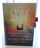The Daily Bible in Chronological Order 365 Daily Readings Guideposts VG ... - $16.50