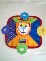 Nuby Teething Blankie with lion - $5.32