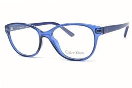 New Calvin Klein Eyeglasses CK5959 412  Full Rim Plastic RX Blue 51-16-135 - $74.50