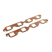 A-Team Performance Square Port Reusable Exhaust Gasket Compatible With Big Block