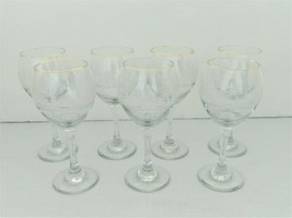 Libbey Christmas/Holiday 7 Wine Glasses – White Frosted Trees – 8 oz - $16.04