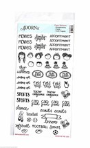 ADORNit Family Planning Clear Sticker - $6.25