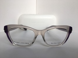 New Marc Jacobs MJ 512 0MT Clear Purple Cats Eye Women's Eyeglasses Fram... - $176.52