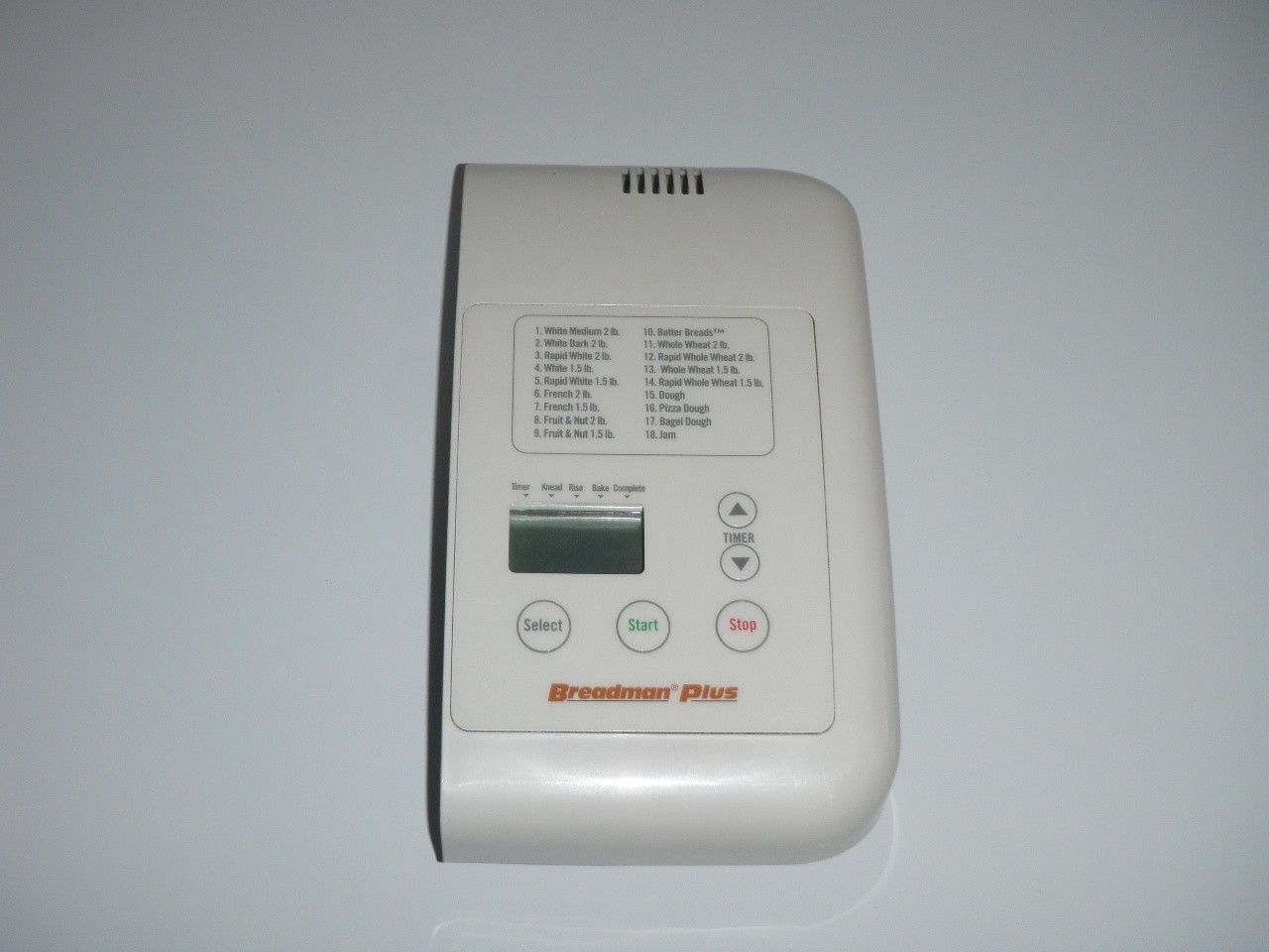 Breadman Plus Electronic Control Panel with PCB for Model TR560 Plus - $27.54