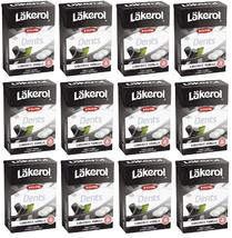 Läkerol  Dents Liquorice Vanilla Swedish Xylitol Candies 85g * 12 pack 36 oz - $69.30