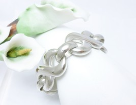 "Sterling Silver Infinity Symbol 7-1/2"" Electroform Bracelet - $95.00"
